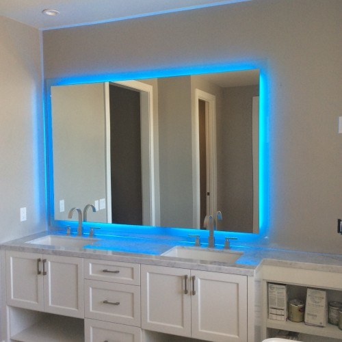 Orange county glass and mirror affordable coastal glass inc for Bathroom mirrors orange county