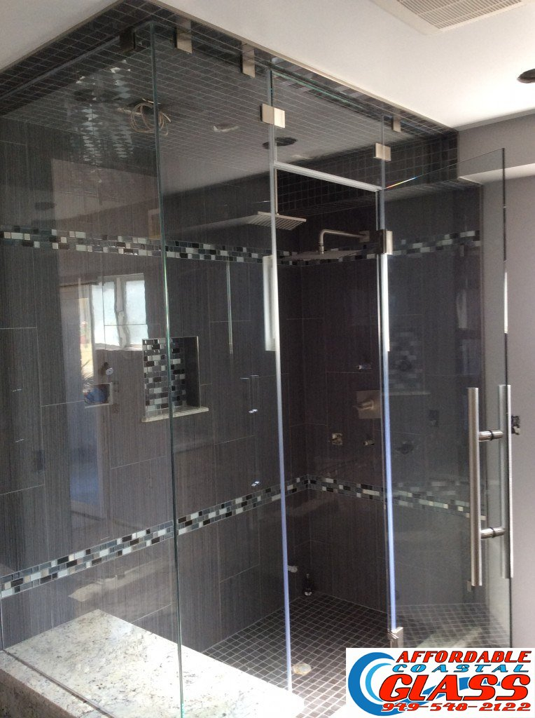 custom frameless shower newport beach img 2