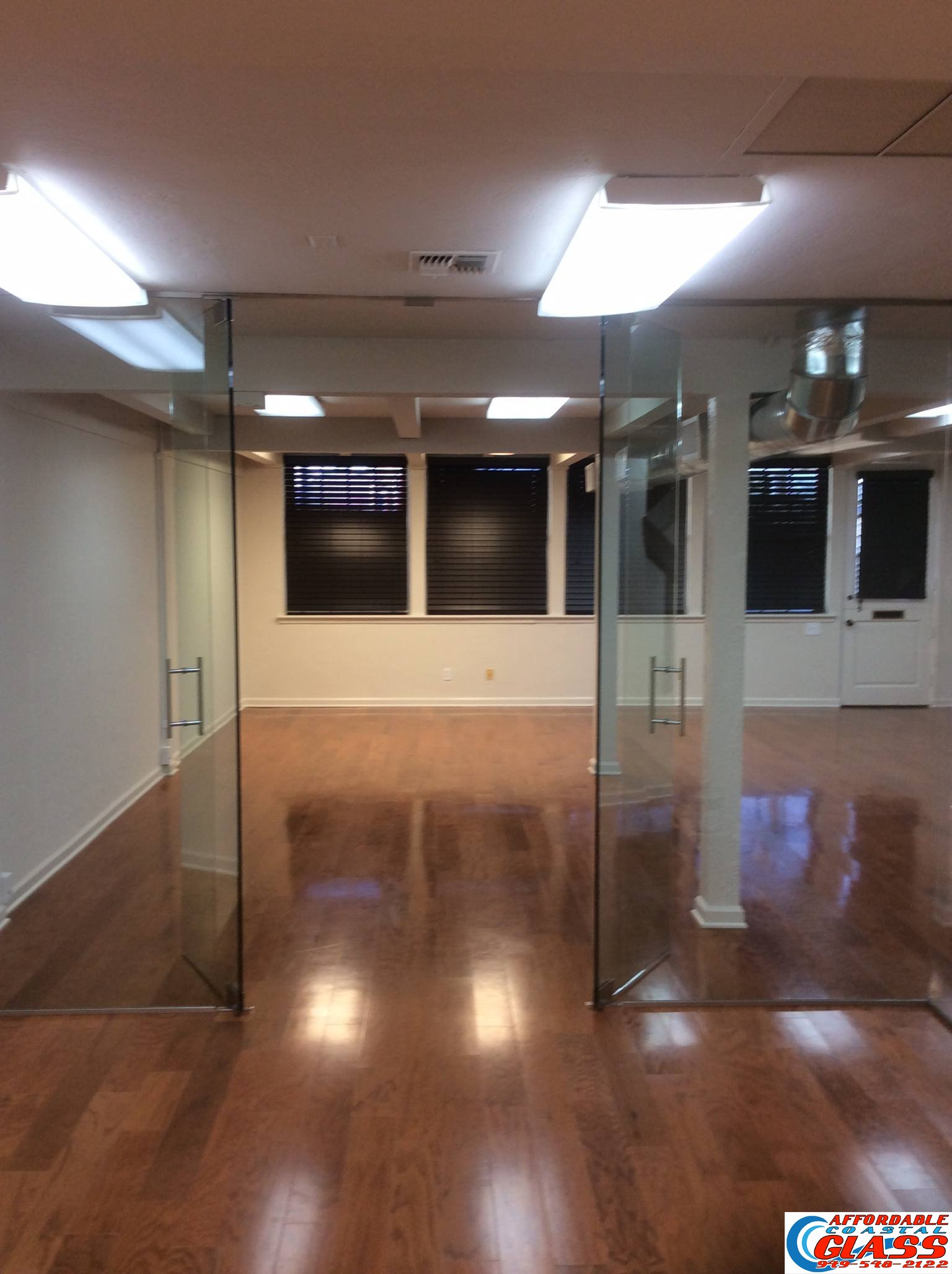 An Office Building In Orange County, Called Us With An Urgent Request For  Several Glass Walls And Herculite Doors. They Wanted The Cleanest, Lowest  Cost, ...